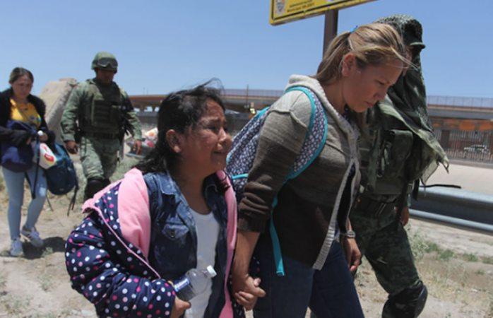 Se viraliza detención de familia migrante en ciudad Juárez