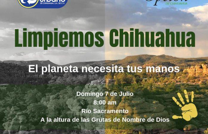 Invitan a limpiar el río sacramento el domingo 7 de julio