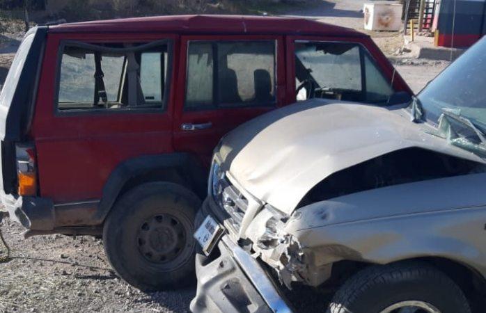 Se registran cuatro accidentes viales en ciudad Cuauhtémoc