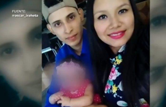 ¿Dónde está mi esposo?, gritó mujer de migrante ahogado con su bebé en Río bravo