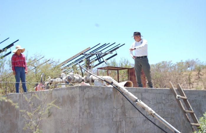 Anuncian construcción de sistemas de red hidráulica en Guadalupe y Calvo