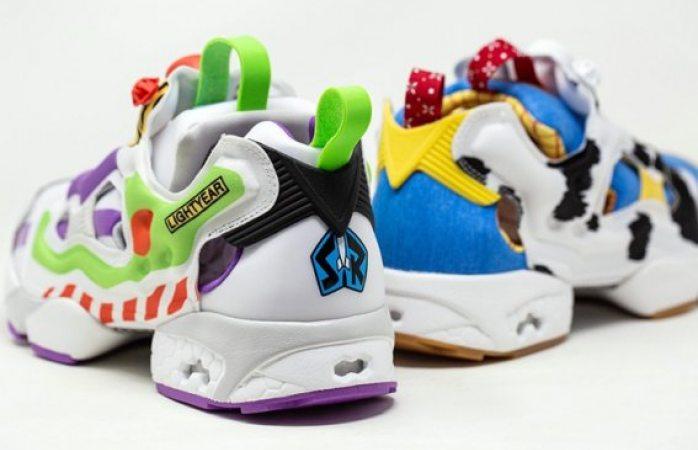 Reebok lanzará tenis de Toy Story