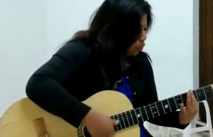 Hermana de Yalitza Aparicio impacta en las redes con su talento vocal