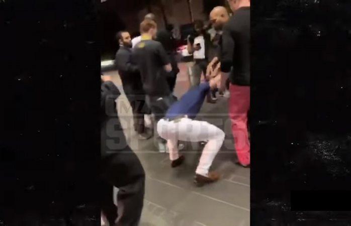 Video: así fue el momento en que McGregor despedazó celular de fan