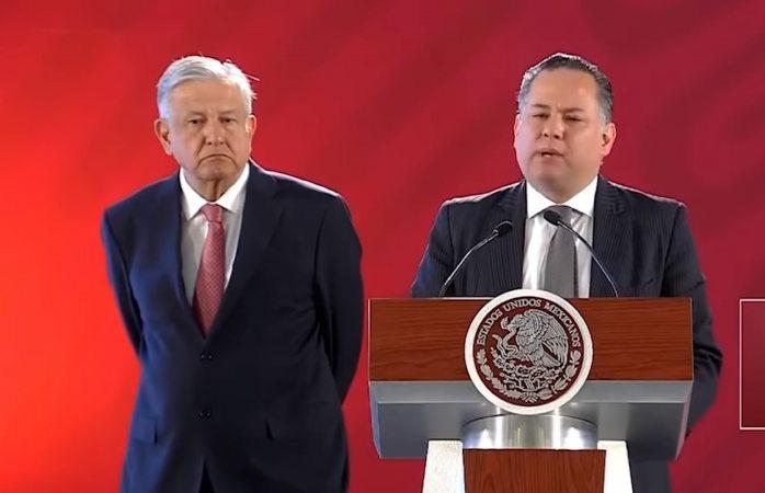 Denuncia Amlo por lavado de dinero a empresas relacionadas con Peña Nieto