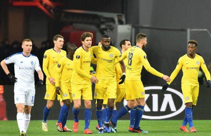 Avanza chelsea a cuartos de la europa league