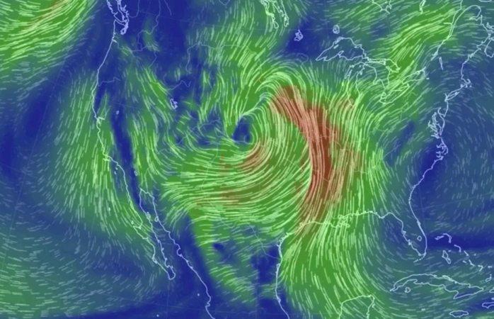 Un ciclón bomba está por golpear el centro de Estados Unidos