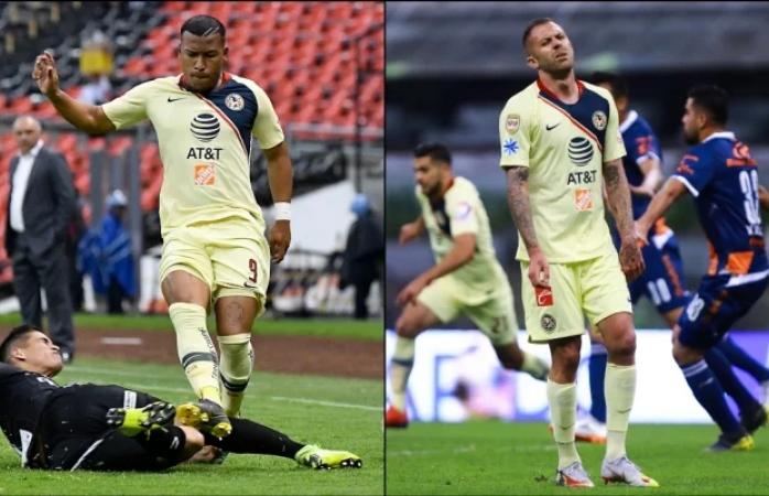 Sin jugar en el clásico nacional Roger Martínez y Jérémy Ménez