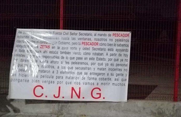 Inicia guerra cártel de Jalisco nueva generación en Veracruz