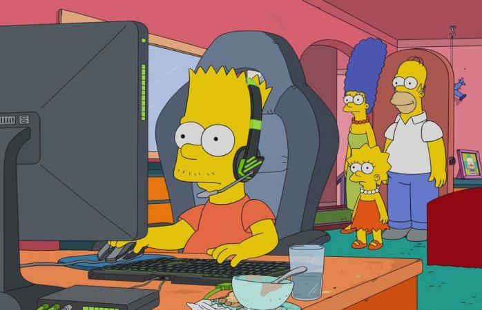 Tendrán Los Simpsons episodio especial de esports