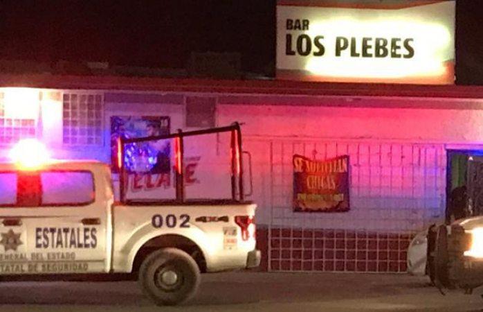 Balean a uno dentro de bar en Juárez