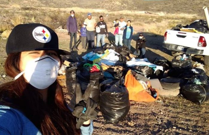 Realizan basura challenge en san guillermo