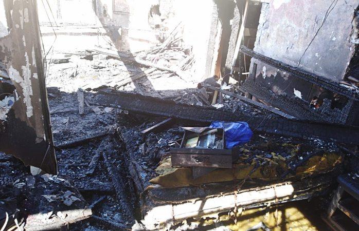 Incendia viviendaen la colonia de Juárez