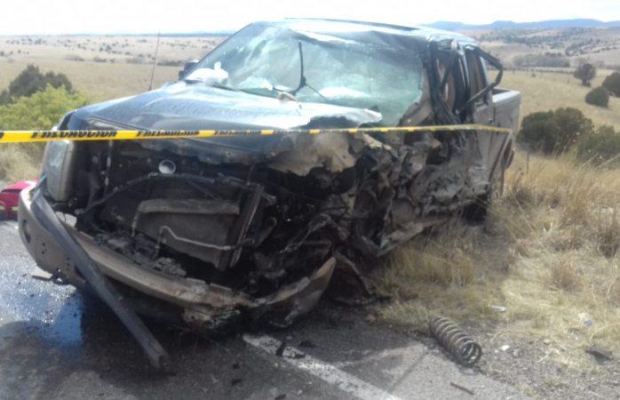 Choque en carretera a Namiquipa deja un muerto