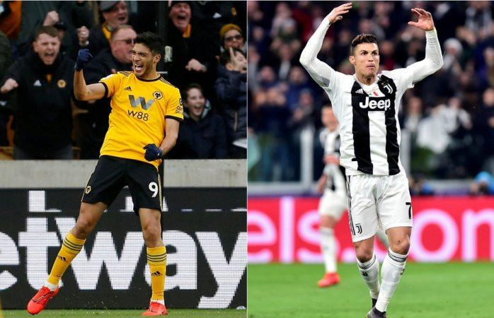 Llevan el mismo número de goles Raúl Jiménez y Cristiano Ronaldo en 2019