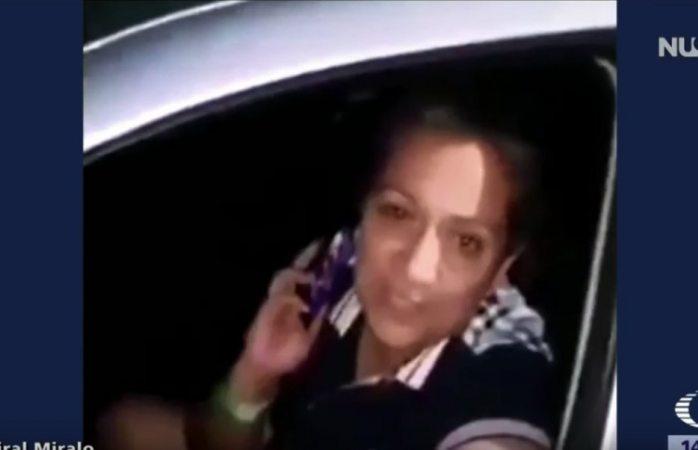 La bautizan como #LadyTeMato luego de amenazar a policía en reten anti ebrios
