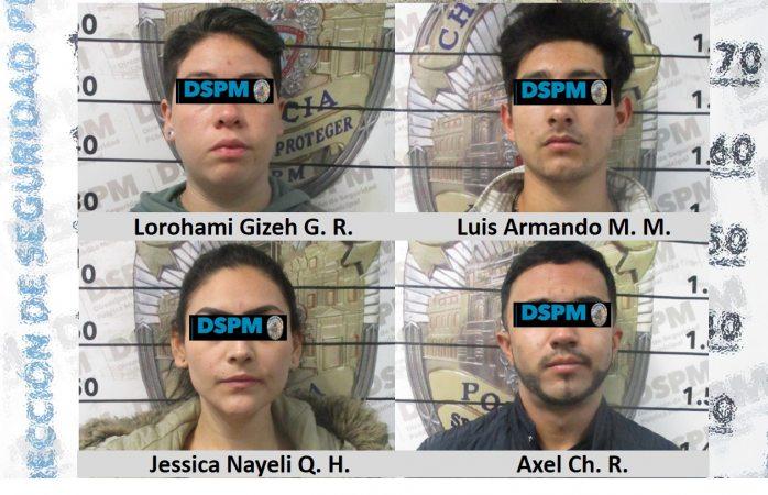 Caen 4 presuntos asaltantes de farmacia guadalajara