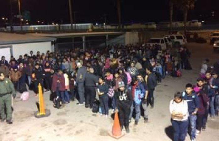 Asegura patrulla fronteriza 400 migrantes