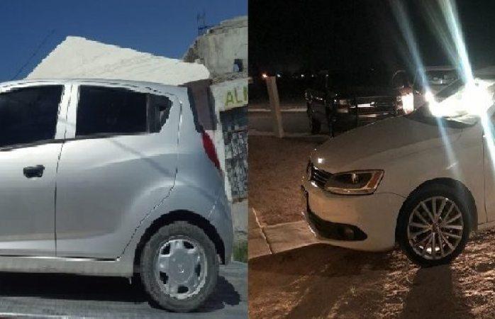Encuentran dos vehículos robados en Delicias