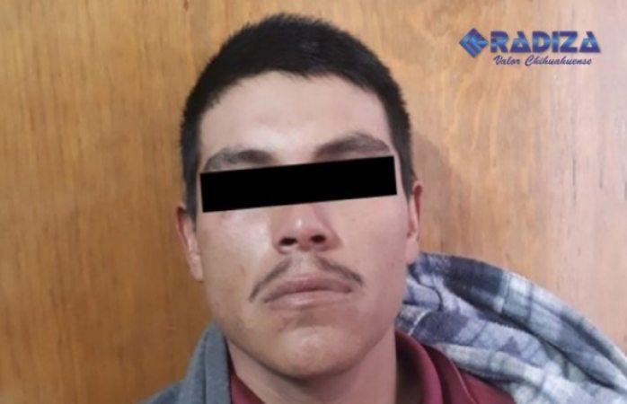 Detienen a hombre por agredir a su pareja e hija en Cuauhtémoc