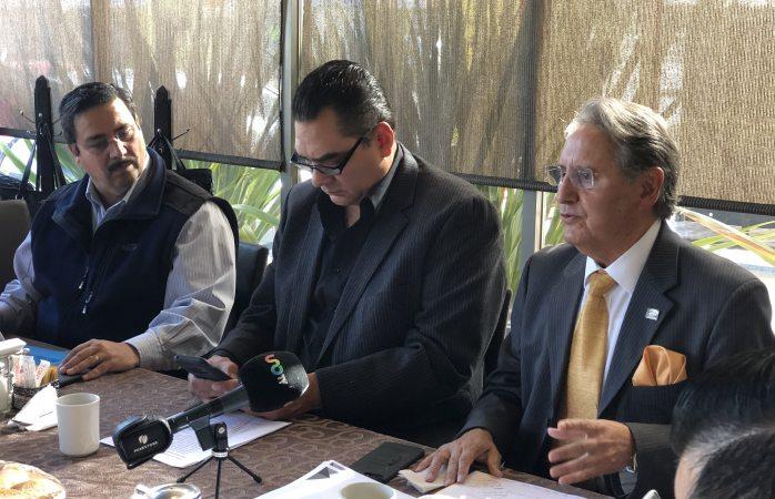 Presentan propuestas candidatos de Canaco ante socios