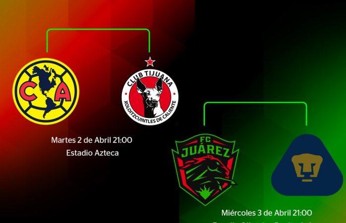 Copa MX Fechas y horarios de las semifinales de la Copa MX