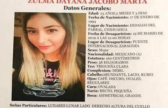 Buscan a joven parralense desaparecida en Juárez
