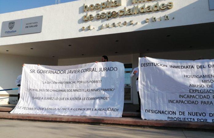 Denuncian médicos de hospital infantil hostigamiento laboral