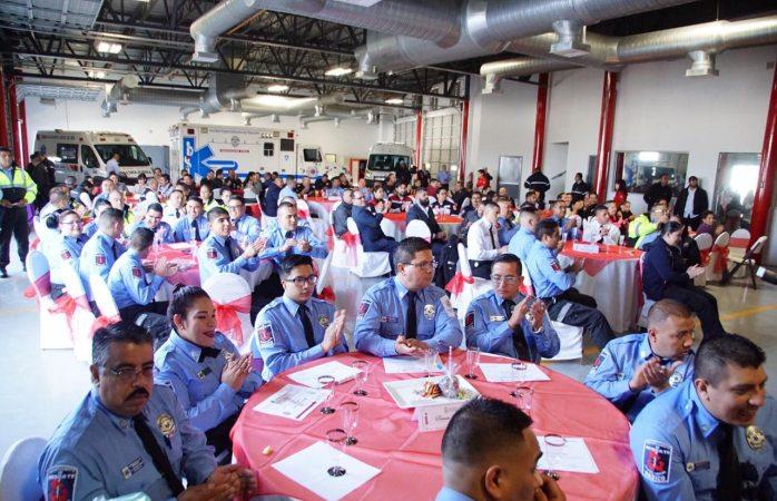 Celebra el departamento de rescate su 42 aniversario