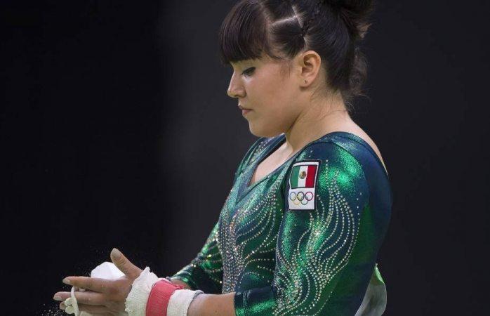 Alexa Moreno quedó en cuarto lugar en copa del mundo de gimnasia