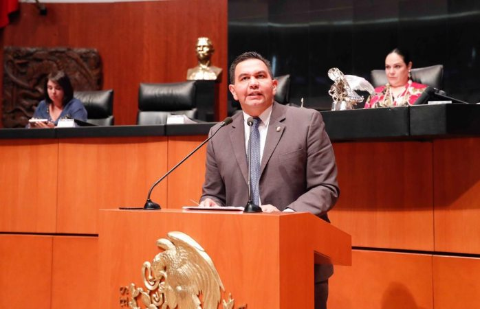 Josefina Román tiene cualidades para ser comisionada del Inai: senador