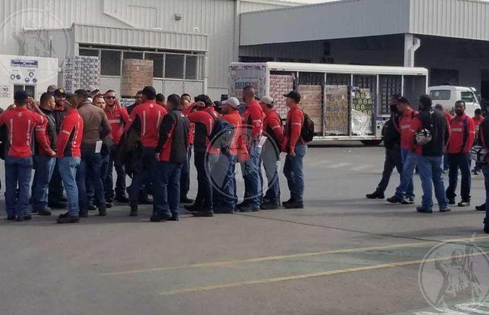 Paran labores distribuidores de cerveza en Juárez