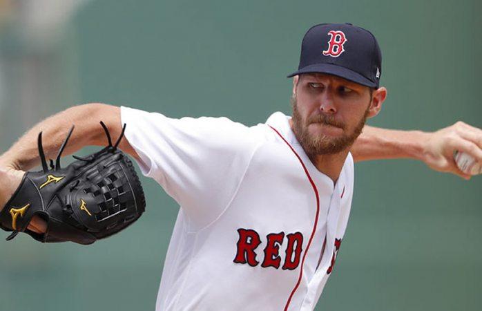Renueva Chris Sale contrato con Boston