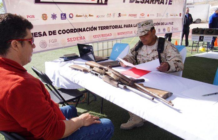 Arranca campaña de canje de armas en Juárez