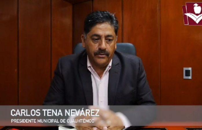 No voy a ser un alcalde agachón: Carlos Tena