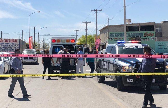 Se resisten a asalto y los balean en puesto de gorditas en Juárez
