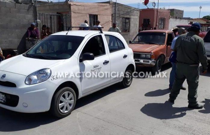 Atropella taxista a niño de 5 años en Camargo