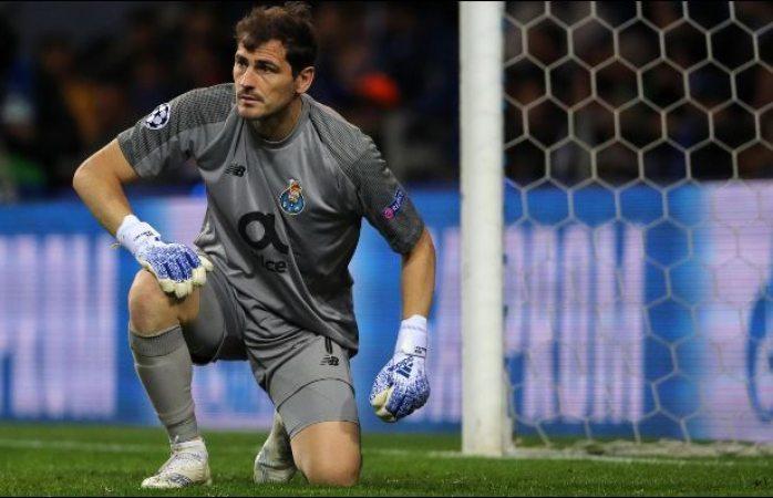 Iker Casillas sufre infarto durante entrenamiento del Porto