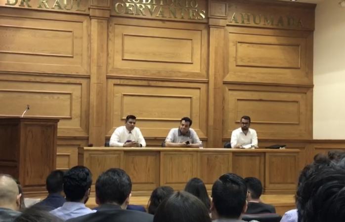 Se oponen alumnos de derecho a tronco común