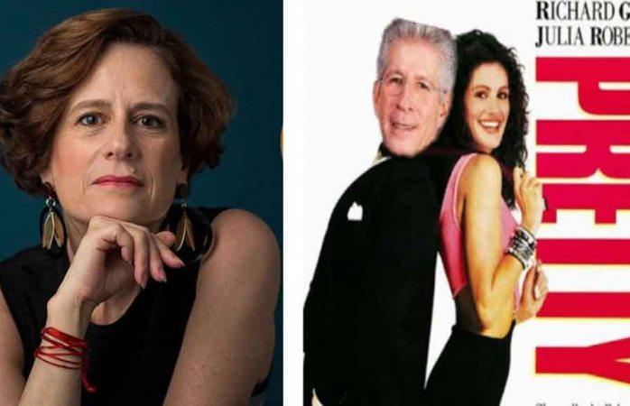 Se burlan de Denise Dresser por confundir a Richard Gere con Gerardo Ruiz