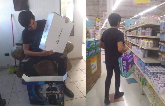 Joven vende su PS4 para comprar pañales a su bebé