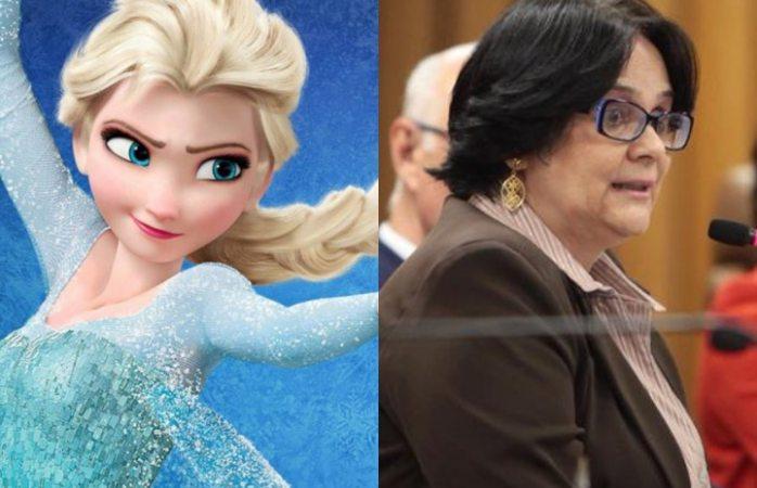Ministra asegura que Frozen vuelve a las niñas lesbianas