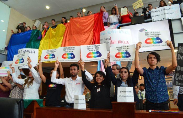 Va Lourdes Valle por el matrimonio igualitario en Chihuahua