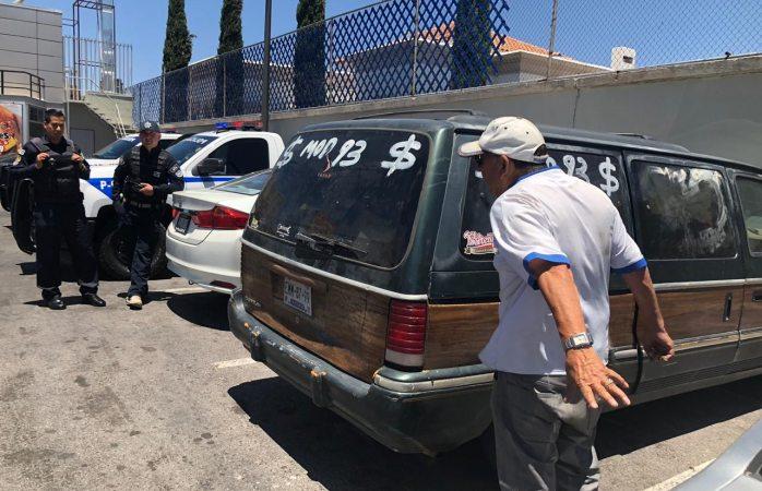 Reporta como robado vehículo que vendió