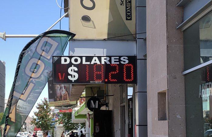 Venden el dólar en $18.20 en casas de cambio