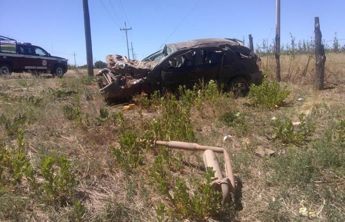 Volcadura en carretera a Matachi deja un muerto y tres heridos