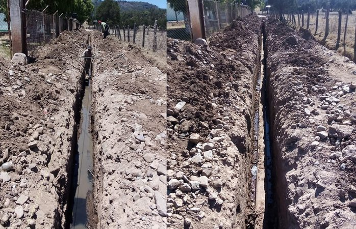 Amplían y rehabilitan red de drenaje en Baborigame