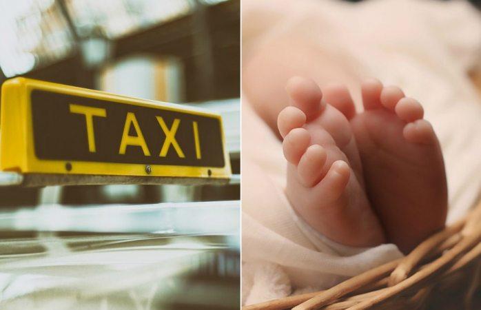 Olvidan a su recién nacido en taxi