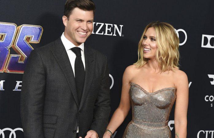 Scarlett Johansson se compromete por tercera vez