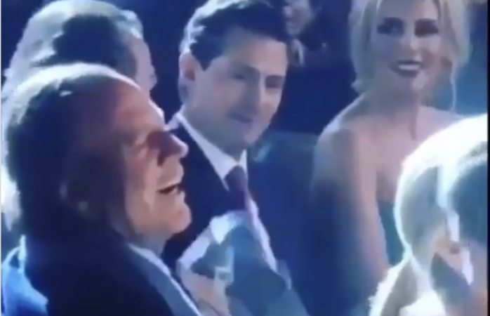 Enrique Peña Nieto es captado con Tania Ruíz en exclusiva boda